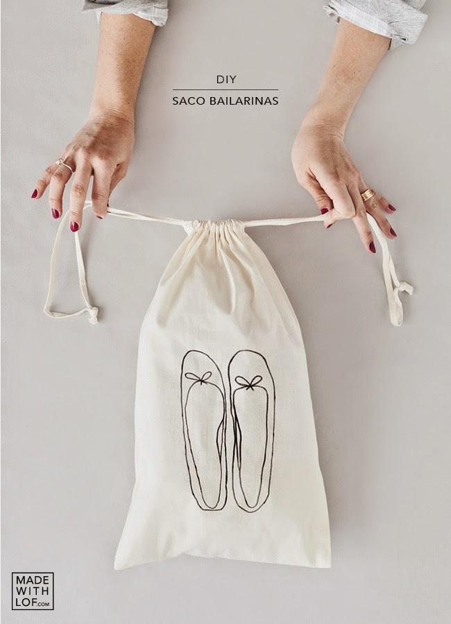 DIY - ¡Tu bolsa de zapatos personalizada en 5 minutos! - Made With ... 4ed56e8d3f236