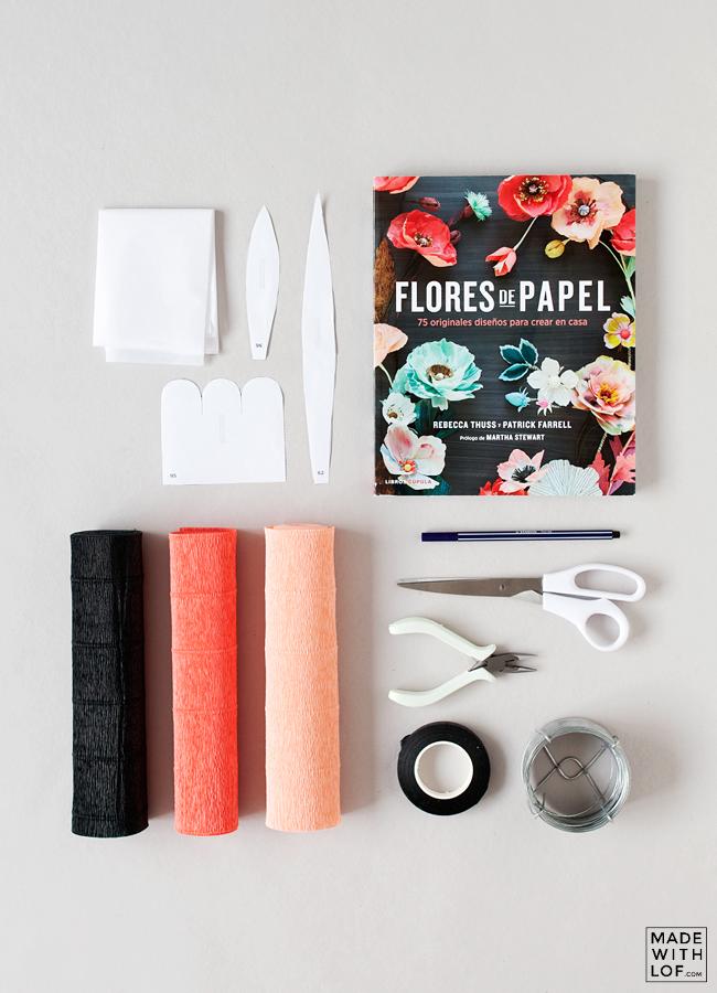 Cómo hacer flores de papel con Rebecca Thuss